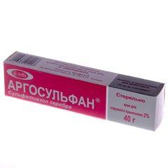 Упаковка крему Аргосульфан