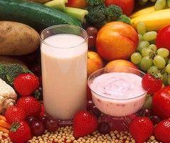 Деякі продукти для дієти Малахової
