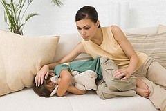 Розвиток дизентерії у дітей