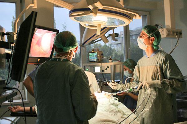 Лікування холангіту. Лапароскопія