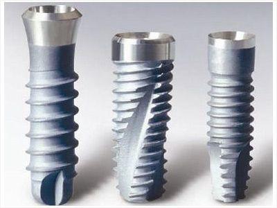 Різновиди зубних імплантатів