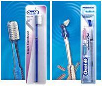 Ортодонтична зубна щітка і Однопучковая зубна щітка