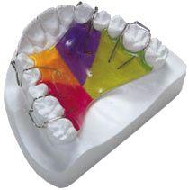 Одночелюстной зубна пластинка