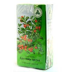 Чай з брусничного листя