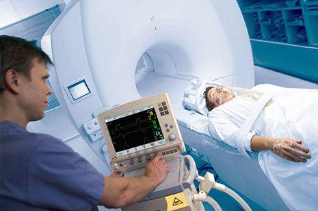 апарати ШВЛ, адаптовані для використання в приміщеннях МРТ