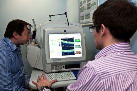 Оптична когерентна томографія