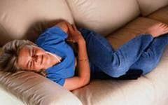 Симптом перитоніту - гострий біль в місці ураження