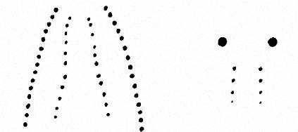 Зліва - неотруйна змія, праворуч - отруйна