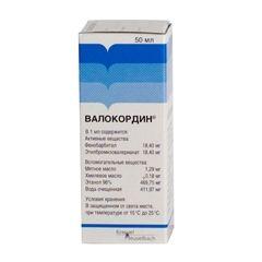 Упаковка Валокордину