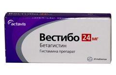 Вестібо 24 мг
