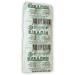 Упаковка таблеток Викалин